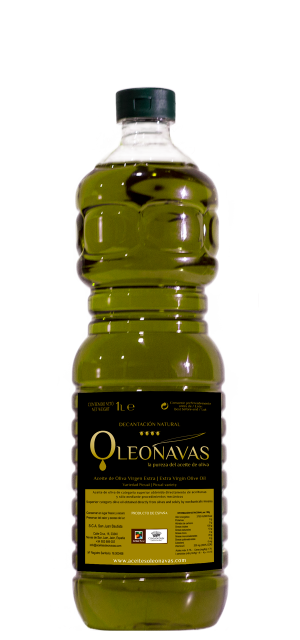 Botella de 1 L | Aceite de Oliva Virgen Extra | Aceites OLEONAVAS