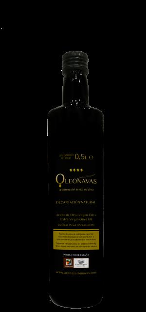 Caja de 12 botellas de 500 ml | Aceite de Oliva Virgen Extra