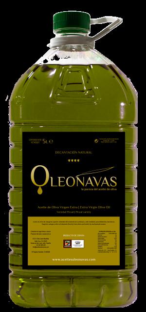 Garrafa de 5 L | Aceite de Oliva Virgen Extra | Aceites OLEONAVAS