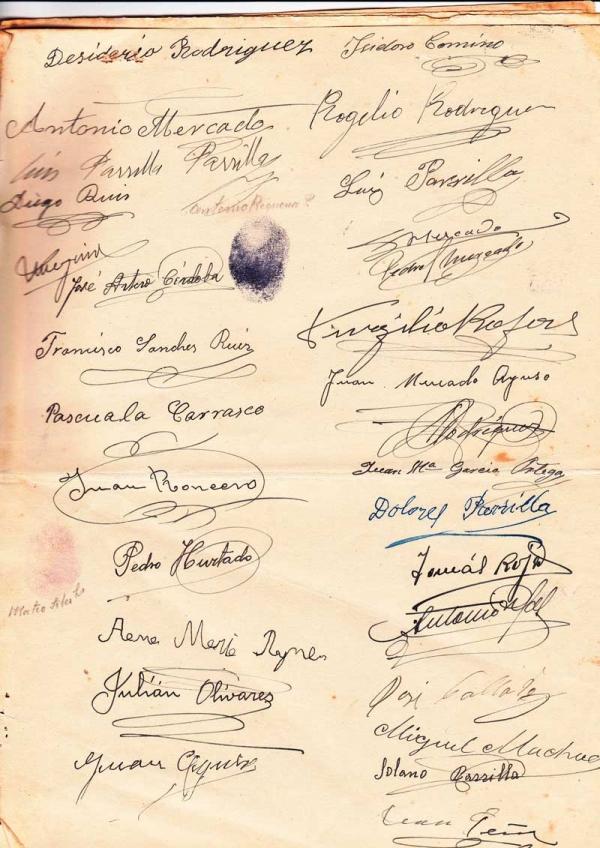 Escrituras de constitución originales